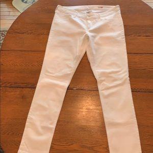 Arizona White Skinny Jeans (Juniors)